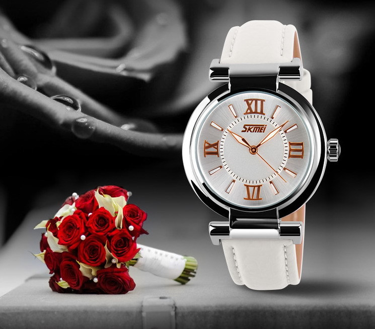 reloj de mujer popular watch korea style Japan quartz movt leather strap watch