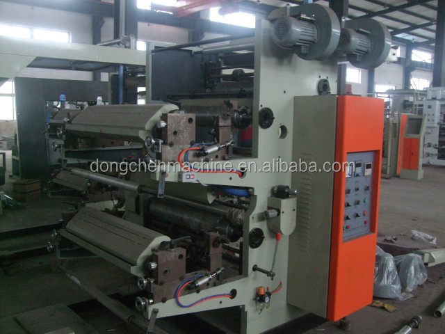 Cups bags box Paper roll flexo printing press
