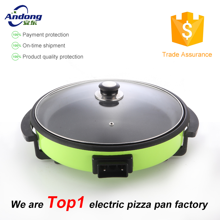 36CM Marble Multifunction Round Electric Pizza Pan 14 inch for cooking