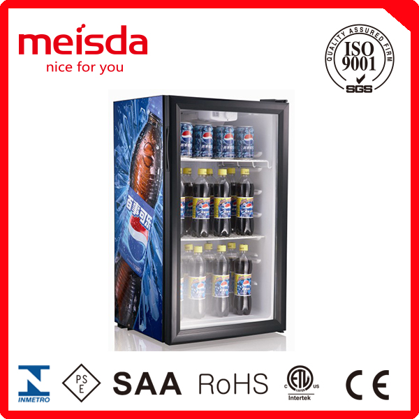 Promotion Mini Display Cooler For Mineral Water