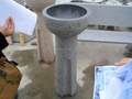 bird bath fountain from Eastwood stone manufacturer