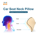 BYC Guangzhou Factory Seat Neck Cushion Memory Foam Car Seat Neck Pillow