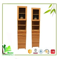 Accept Custom Bamboo drawer cabinet,Wooden storage cabinet