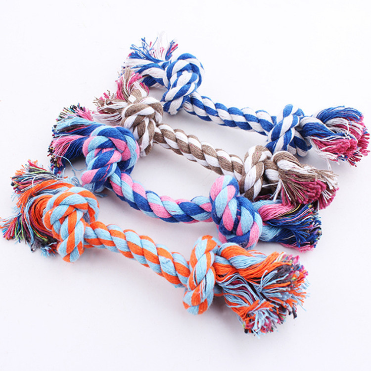 Pets Puppy Dog Pet Rope Toys For Small to Medium Dogs Interactive Toys Ropes