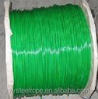 Factory direct sale Long life Plastic Coated Steel Wire Rope