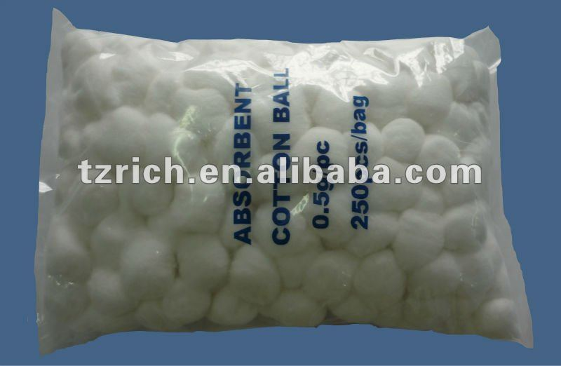 cotton woll ball(absorbent)