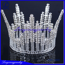 Fashion Jewelry Tall Pageant Crowns For Kids