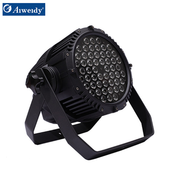 stage light waterproof led par 64 54 3w par light led par rgbw light