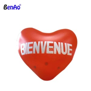 Z595 Best sale giant inflatable PVC helium heart for advertising,inflatable heart replica for sale,Inflatable custom model