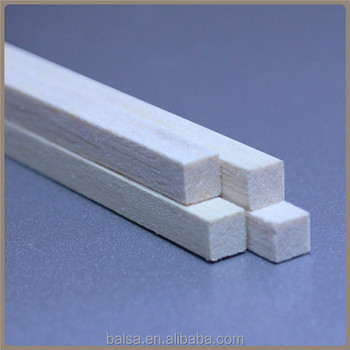 Light Weight Balsa Wood Strip from Chinese Factory