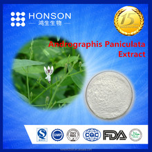 Thuốc thảo dược andrographis paniculata chiết xuất từ lá andrographolide10% 50% 98%