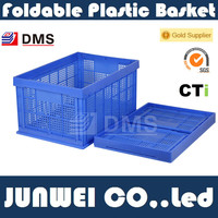 100% virgin PP Large Plastic Foldable Crate 4#