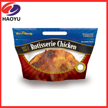 Hot roast chicken bag/hot roast plastic packaging bag for duck chicken fish