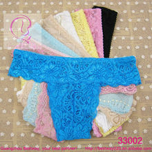 Wholesale fancy lace thongs g strings mix color & pattern cute thongs