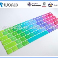 Colorful Keyboard Skin Silicone Keyboard Cover