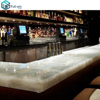polished artificial jade marble translucent countertop designs