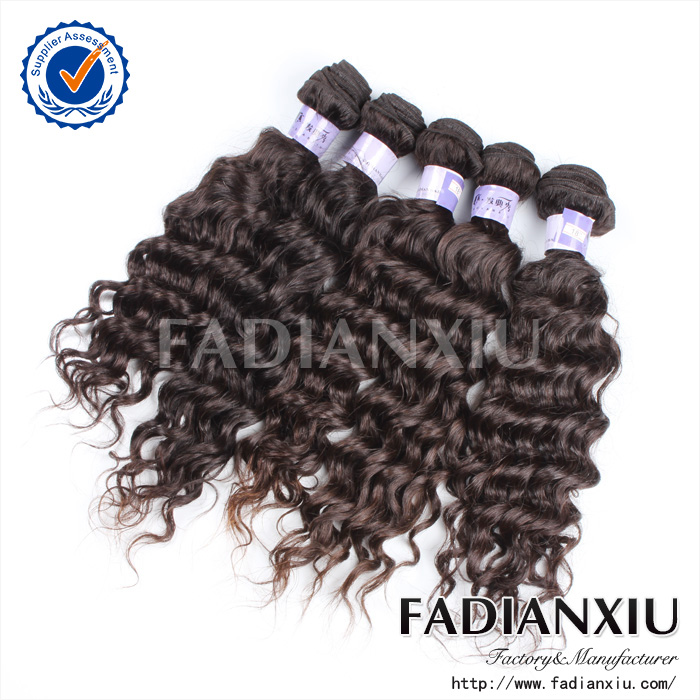 Popular natural color with 7days refund or return policy dyeable cheap virgin human hair brazilian deep wave