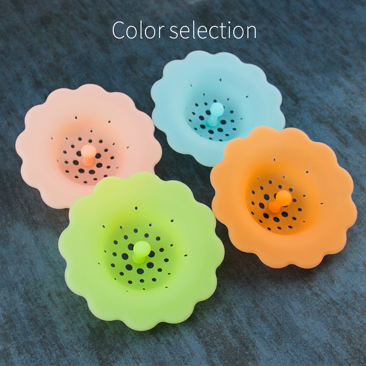 Silicone hair catcher / silicone floor drain / water tap for sink