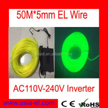 2016 lighting flexible neon el wire with lower price