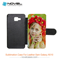 2017 New Sublimation Leather Phone Case for Samsung Galaxy A5 2016 (A510), Sublimation Wallet Case