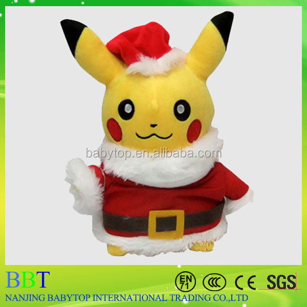 Pokemon center Pikachu Holiday 2016 Snowman <strong>Plush</strong> from yiwu factory