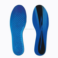 Insoles Type and Blue TPE gel Grey velutum Material foot massage gel insoles