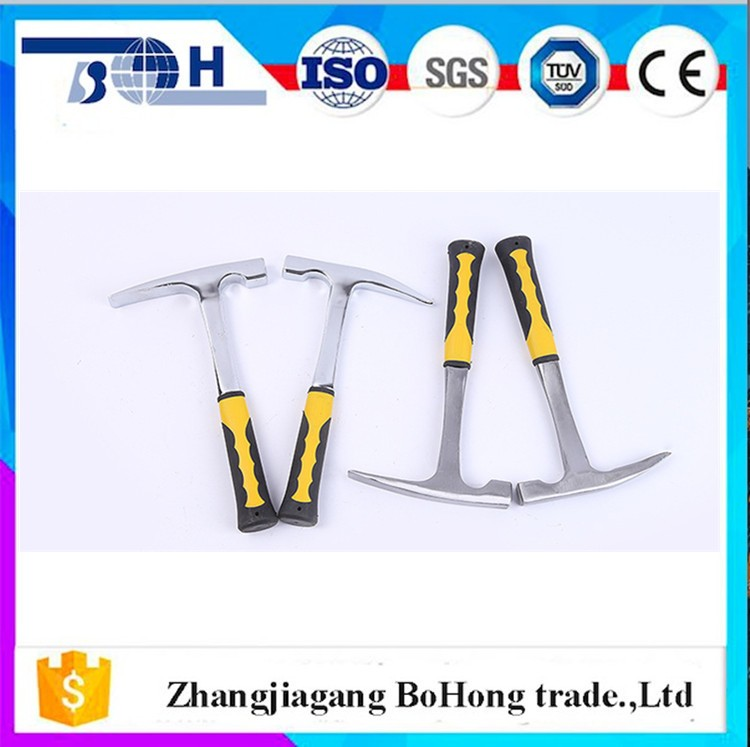 Professional geological hammer for mineral resources