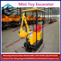 2015 Hot sale CE certificate Newest mini toy Excavator Ride on Car for Kids