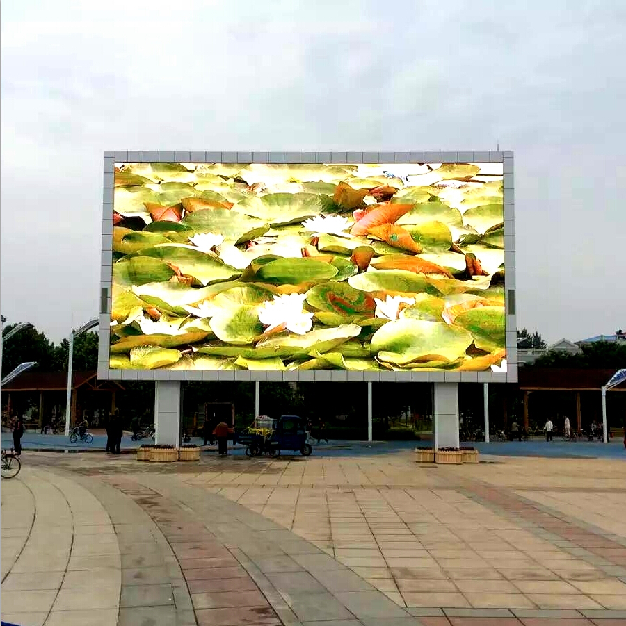 Wholesale SMD 1R1G1B full color HD P16 outdoor waterproof LED display for rental adversting from China