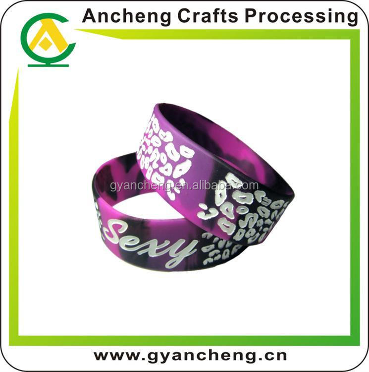 Promotion custom fabric elastic rubber band for holiday gifts