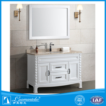 2017 hot selling bright color bathroom cabinet