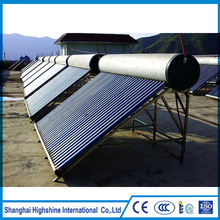 New product best selling home solar system non-pressure water heating