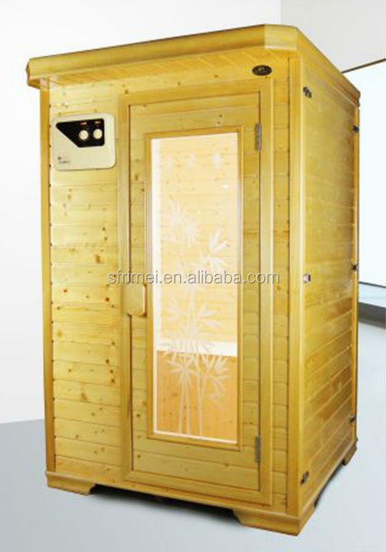 2 Person Solid Wood Sauna Room Cheapest Infrared Sauna Room K-7126