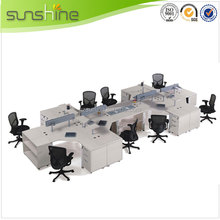 Aluminum Glass Office Desk Partition Office Partition System