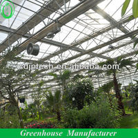 Glass Shade House For Agriculture
