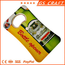 2015 best selling custom plastic bottle opener