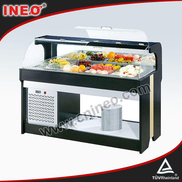 Buffet Salad Display Refrigerator/Salad Refrigerator/Buffet Used Display Refrigerator
