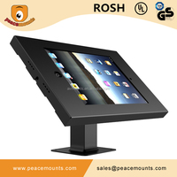Ipat Universal adjustable 360degree rotating 7-13inch tablet kiosk stand
