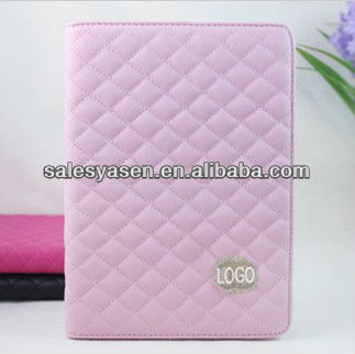 2013 hotselling bluetooth keyboard leather case for ipad mini
