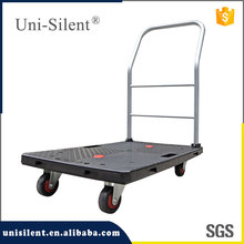 New Design Plastic Flat Cart Dolly Platform Hand Truck PLA100Y-B