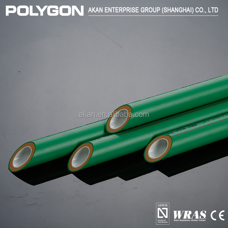 Polyethylene Plastic pipe Polygon Pp-R Pipe For Hot Water Supply