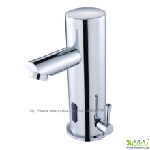 long use deck mounted faucet,kitchen faucet with sensor,hand wash basin automatic tap