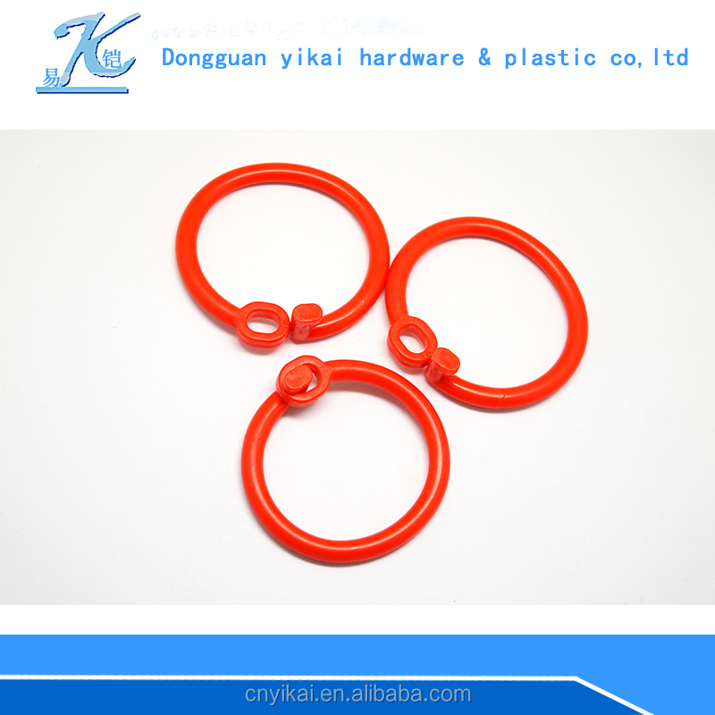 2016 latest plastic locking rings for baby toys