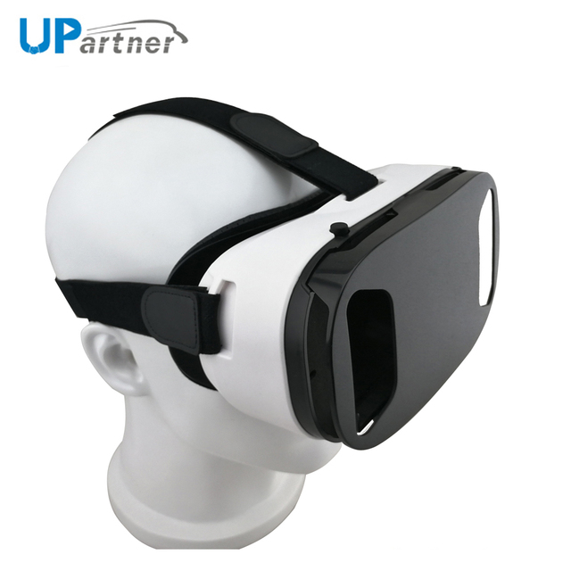 Upartner Manufacturing 3D Vr Video Glasses Virtual Reality Video Japan Girl Box Vr Headset With Shooting Button
