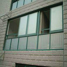 cheap and fine aluminum profile sliding windows in guangzhou
