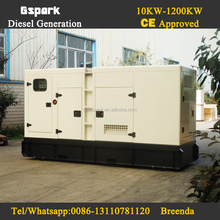 Low noise Continuous Running 250kva diesel generator with cummins engine price
