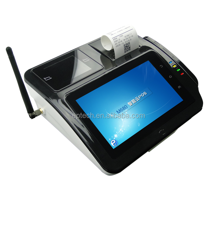 M680 API Supplied Programmable Android POS Bill payment machine for Gas