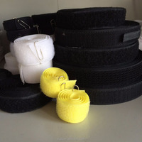 hook and loop velcro fastener tape all color for hats,shoes, clothes, bags, and home textile