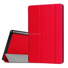 colorful Three Folding Smart Leather Case Cover for Amazon Kindle Fire HD 8