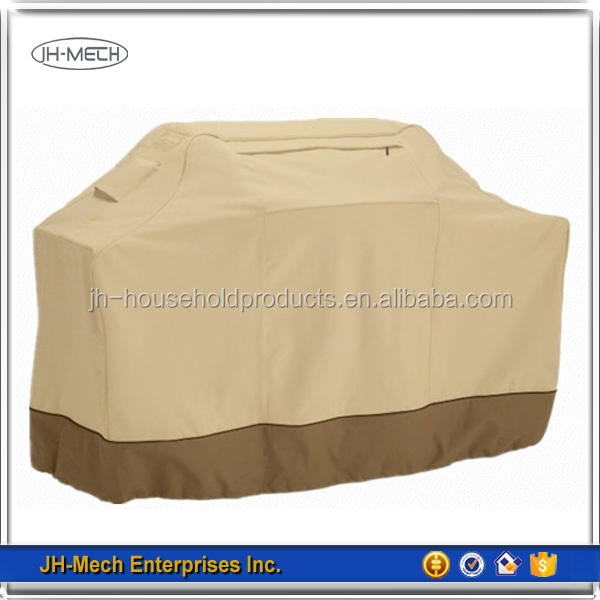 Waterproof heavy duty polyester bbq cover supplier factory